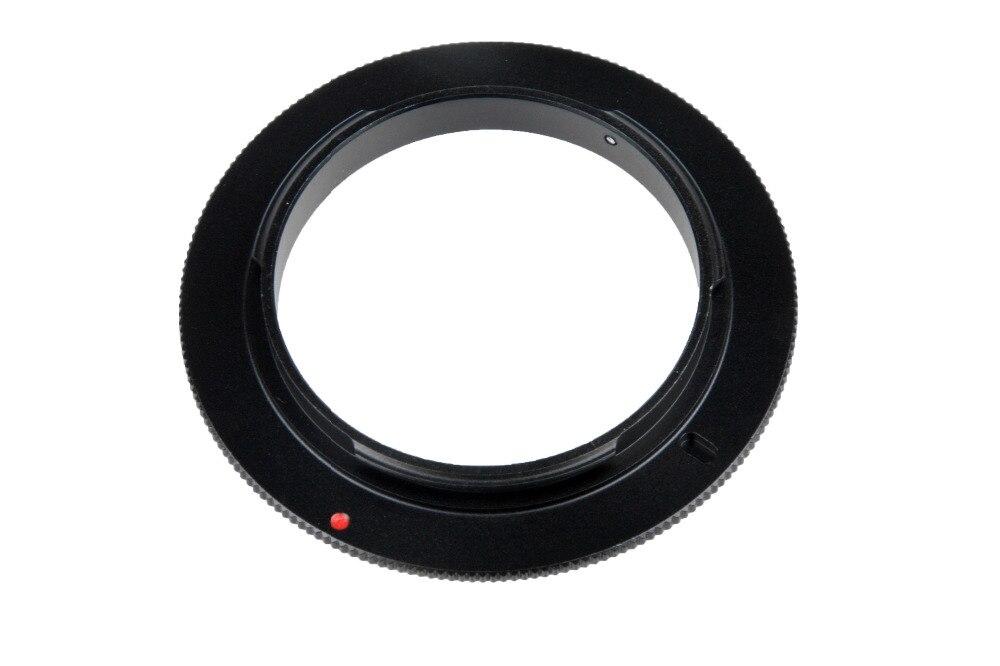 Алюминиевое макрообъектив для камеры обратное переходное кольцо для Nikon AI до 49 мм 52 мм 55 мм 58 мм 62 мм 67 мм 72 мм 77 мм Резьбовое крепление