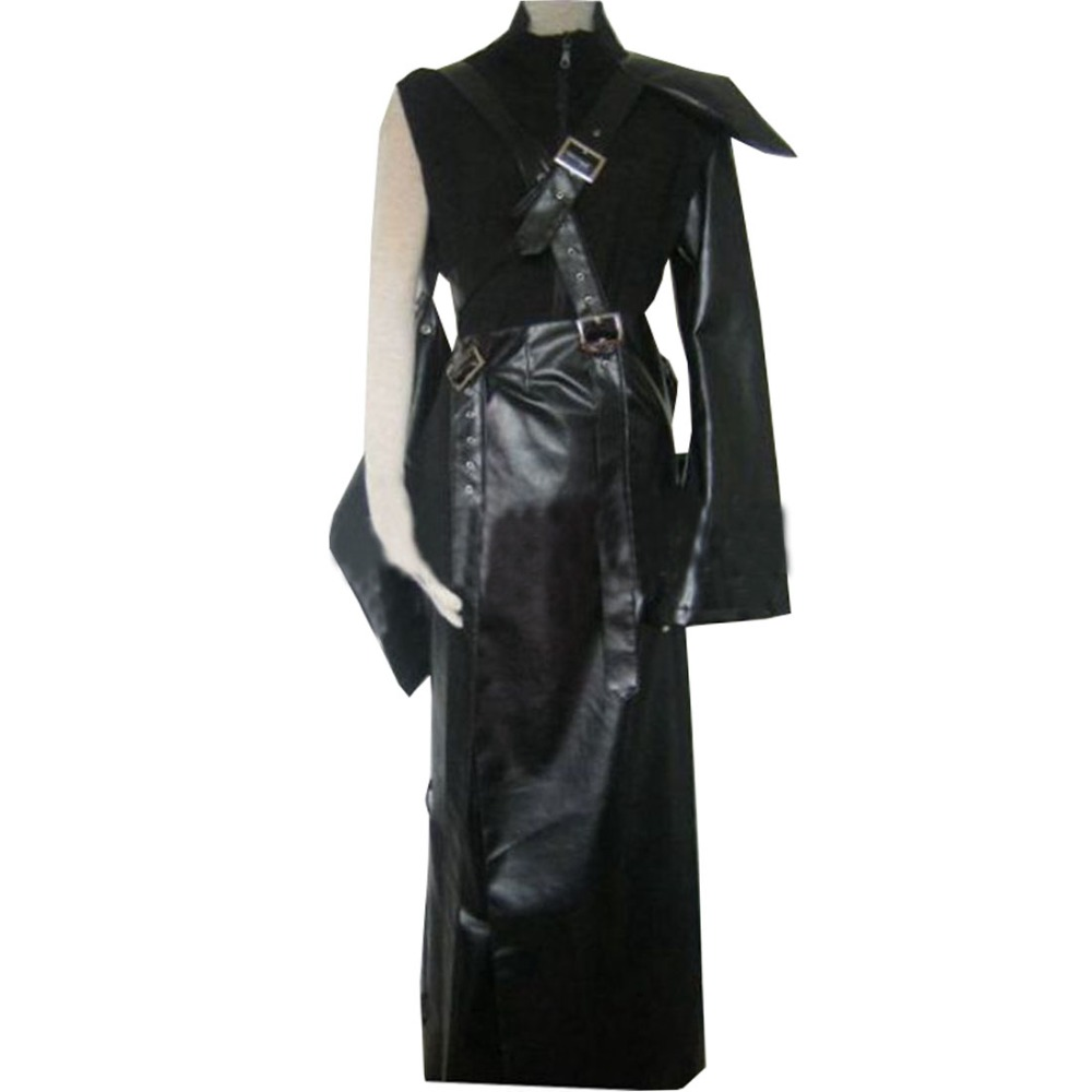 2018 FF7 Final Fantasy VII Cloud Strife Cosplay Costume Custom Made Any Size