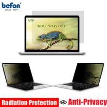 Befon 13,3 дюймов Фильтр конфиденциальности Защитная пленка для экрана для широкоформатного 16:9 ноутбука ноутбук защита экрана 294 мм* 165 мм
