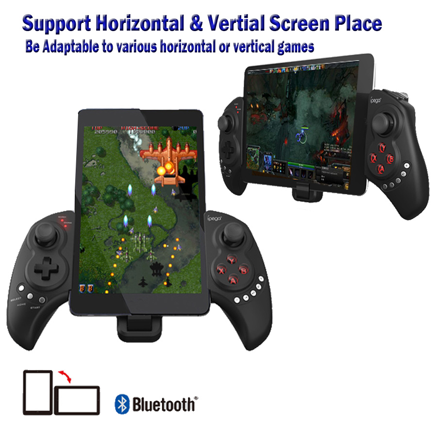 iPEGA PG 9023 Telescopic Wireless Bluetooth Game Controller Joystick For Phone Pod Pad Android IOS font