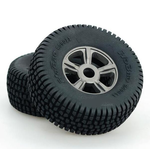 2pcs 1/8 tires for Short Course car HOBAO 8SC tire tyre set wheels HOBAO R09011 Dia.113mm Hex.17mm 2pcs traxxas original 1 5 x maxx tires wheels tire tyre for 1 5 traxxas x maxx rc monster truck model 7772