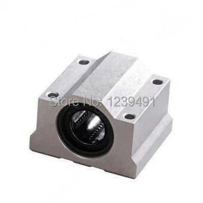 b2df181902129 10 adet/grup SC6UU SCS6UU 6mm Lineer eksen rulman blok ile LM6UU çalı, CNC  bölümü için yastık blok lineer birimi