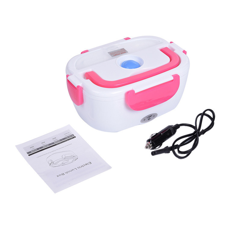 BECORNCE 12V 40W Portable Car Lunch Box & Electric Food Warmer