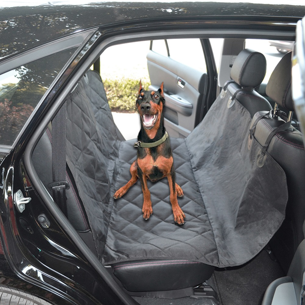 Back Seat Car Covers For Dogs >> Car Pet Seat Covers Waterproof Back Bench Seat 600D Oxford ...