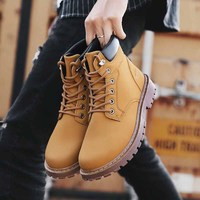 Masorini 2019 Winter Fur Warm Male Boots For Men Casual Shoes Work Adult Quality Walking Rubber Brand Safety Footwear WW 845