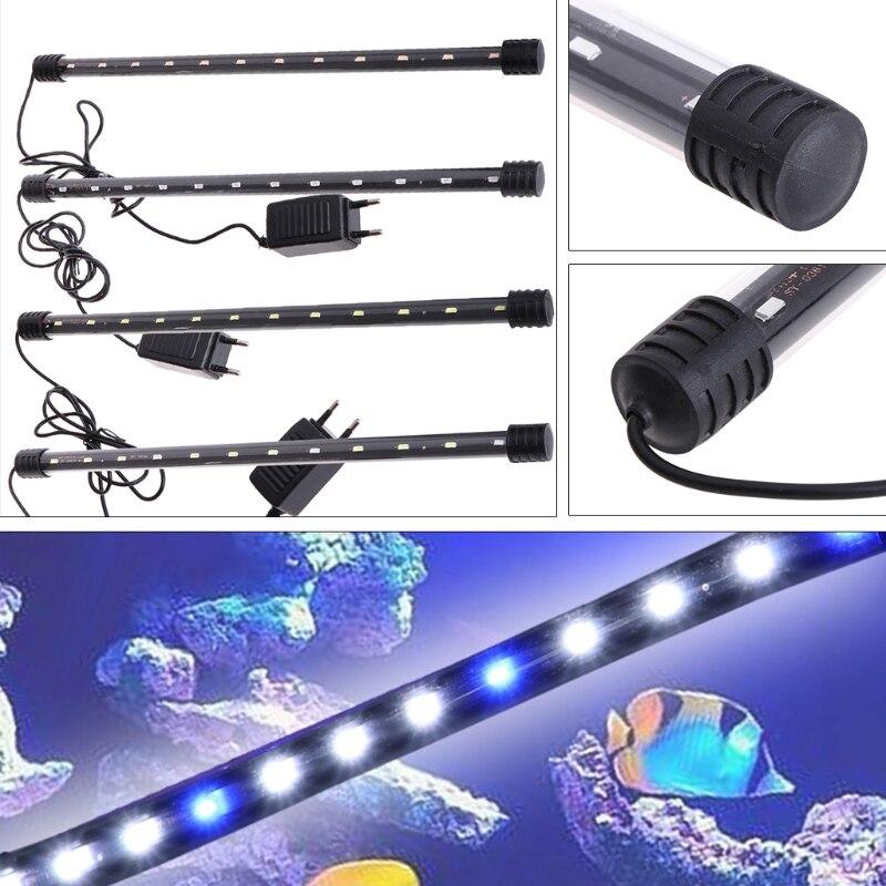 6W Submersible Waterproof Aquarium Fish Tank <font><b>LED</b></font> Light Bar <font><b>Lamp</b></font> Strip <font><b>EU</b></font> <font><b>Plug</b></font>