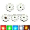 10pcs/lot US Original Cree XPE XP-E 1W 3W LED Emitter White Red Green Blue Royal Blue Amber LED on 20mm Star