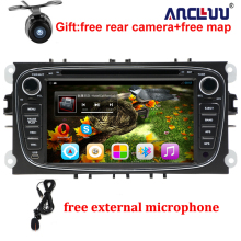 FORD FOCUS 2 /MONDEO/S-MAX/CONNECT 2008 2009 2010 2011 DVD Player Android 6.0 Quad core 2 Din 7″ GPS