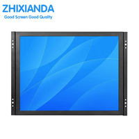 Factory direct selling OEM/ODM 15 inch open frame industrial lcd monitor with AV/BNC/VGA/HDMI/USB interface