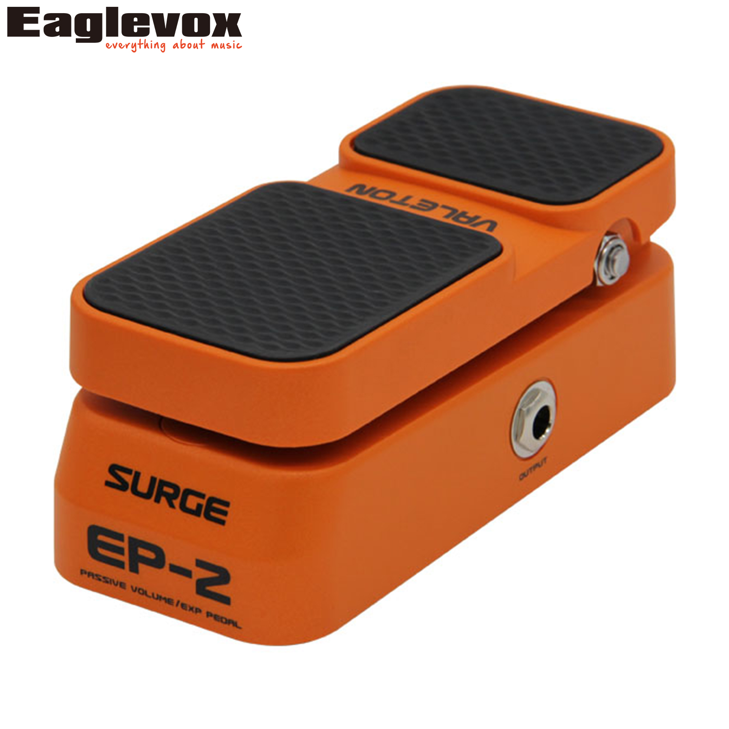 Valeton Surge EP-2 Passive Volume Expression Effect Pedal Automatically detects output Effects for Electric Guitar and Bass inhuman volume 2