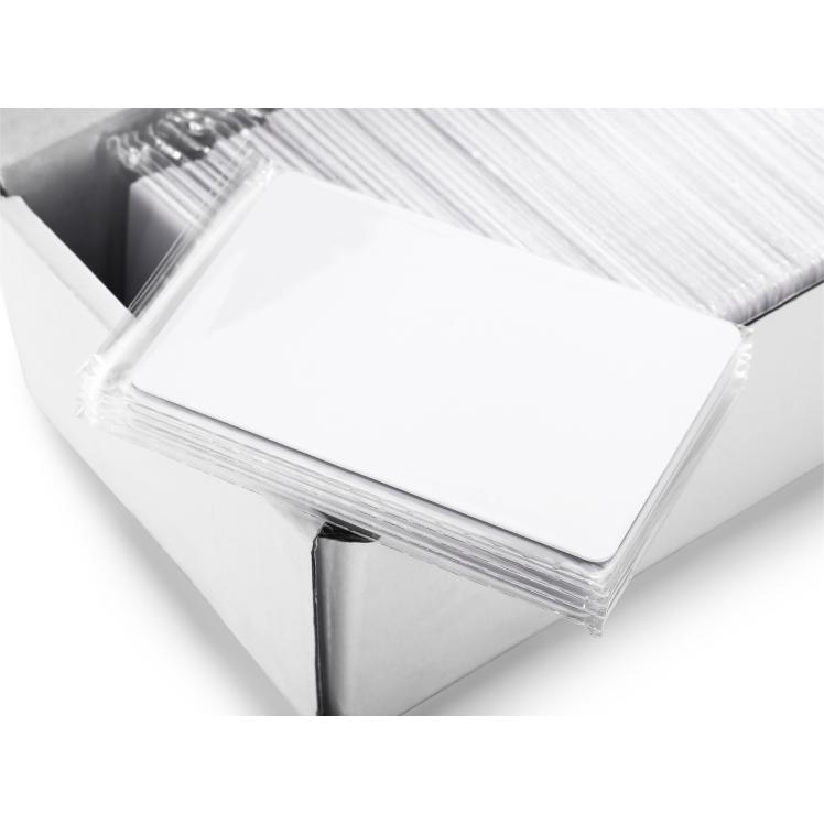 100pcs/lot MF1 S50 1K UID Changeable Card 13.56MHz Rfid block 0 writable Card Ink jet printer Printable UID Card F1108 Chip