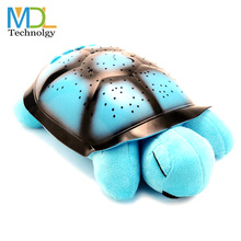 Turtle LED Night Light Song Music Bady Room Sleep Lights Sky Star Novelty Lamp Children Toys Gift For Birthday holiday Pink Blue