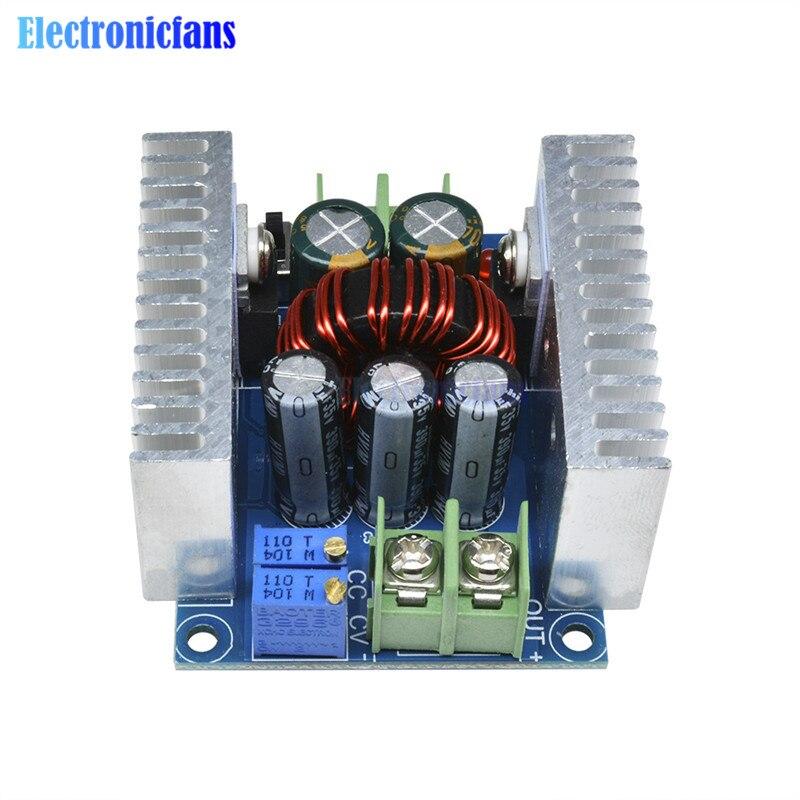 300 W 20A DC-DC Buck convertidor módulo controlador LED de corriente constante de paso de tensión condensador electrolítico