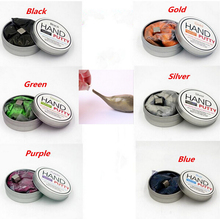 Creative Toys 6colors Magnetic Rubber Mud Handgum Hand Gum Silly Putty Magnet Clay Magnetic Plasticine Ferrofluid
