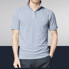 Men Polo Fashion  pure color polo shirt Solid Color Short Sleeve Slim Fit Shirt Cotton Shirts Casual