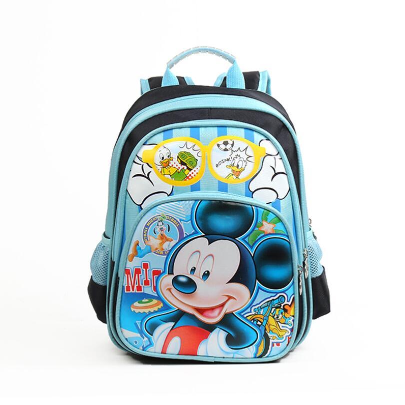 Бесплатный подарок Анна Эльза дети сумка ранцы девушки мультфильм рюкзак дети характер моды школьный mochila escolar infantil