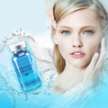 20 ml de soro ácido hialurônico hidratante da pele argireline peptídeo para o rosto creme de cuidados de reparação caracol branco cristal colágeno e vitamina c