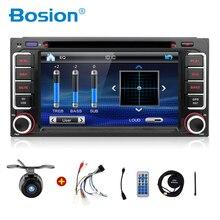 Envío gratis 2016 nuevo 2 DIN Coche GPS DVD PlayerFor Toyota auto de radio doble din con GPS, BT, mandos en el volante