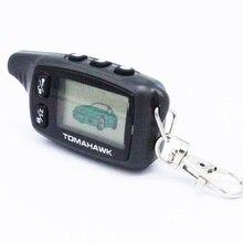 Envío libre LCD de $ number vías A Distancia Para El sistema de alarma del coche de Dos vías Tomahawk TW9030 Llavero coche Tomahawk TW 9030