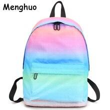 Menghuo najnowsze kobiety plecaki drukowanie 3D plecak kobiet modne dizajnerskie torby szkolne nastolatki dziewczyny mężczyźni torba podróżna Mochilas