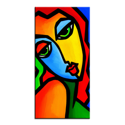 Large size Printing Oil Painting Wall painting wake me up POP Art Wall Art Picture For Living Room painting No Frame