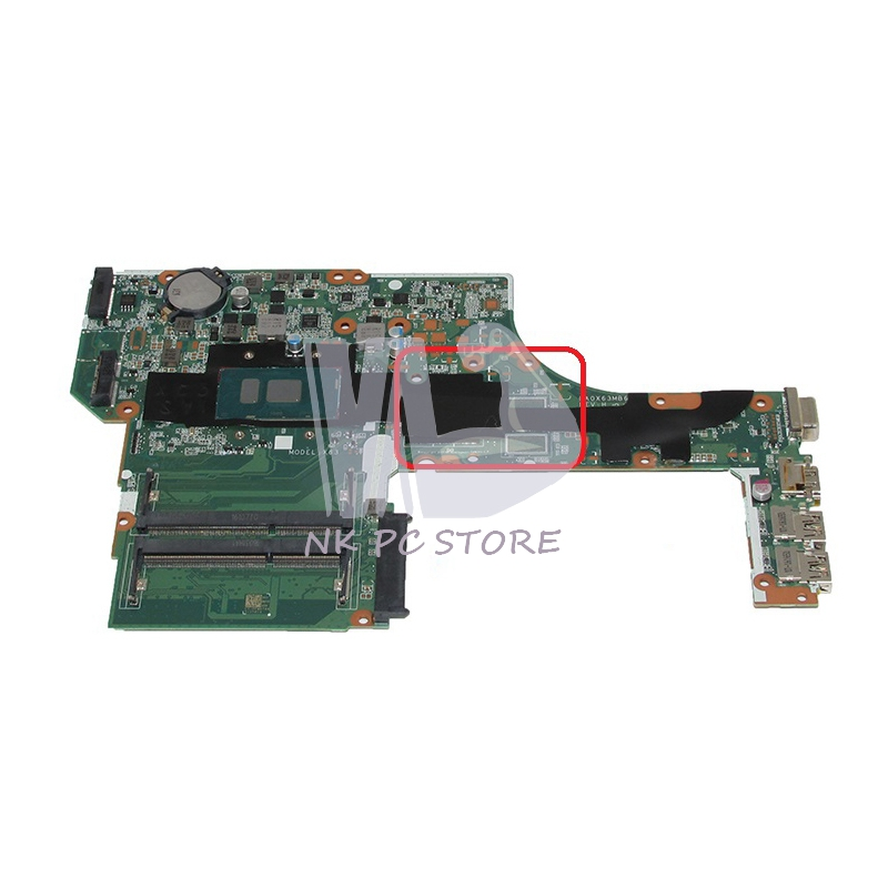 NOKOTION For HP Probook <font><b>450</b></font> 470 G3 Laptop Motherboard SR2EY i5-6200U CPU 830931-601 830931-001 830931-501 DA0X63MB6H1 image