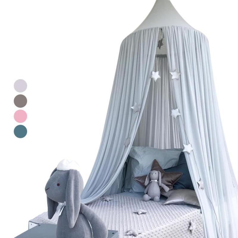 Kinder Kinder Bett Baldachin Vorhang Hängen Moskito Netze Für Erwachsene  Betten Mosquitera Prinzessin Mädchen Zimmer Decor Nordic Dossel S3