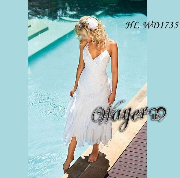 Short Wedding Dresses Beach Casual_Wedding Dresses_dressesss