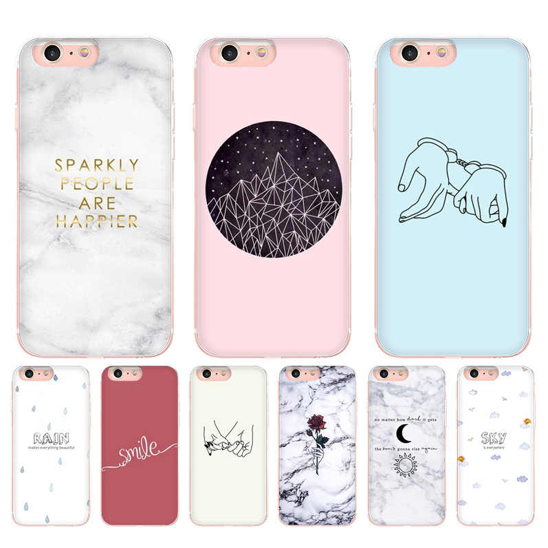 watch fa740 d3728 MaiYaCa Design simple wallpaper Coque Shell Phone Case for iPhone 8 7 6 6S  Plus 5 5S SE 5C Coque Transparent soft shell