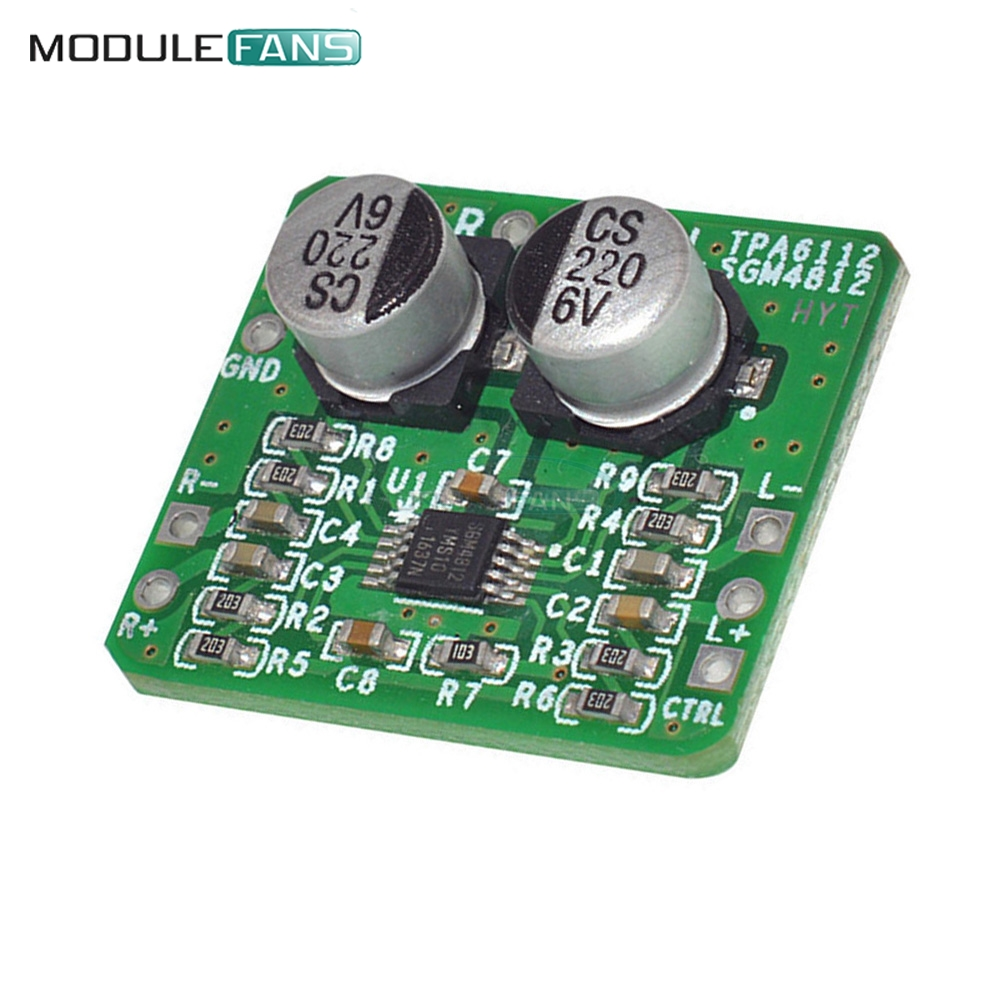 High Quality Headphone Amplifier Differential Balanced Sgm Diy Kit A Hiqh Schematic Electronic Pcb Board Module 4812 Hifi Amp 150mw In Integrated Circuits From