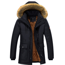 Windproof Warm Hooded Parkas 3 Colors