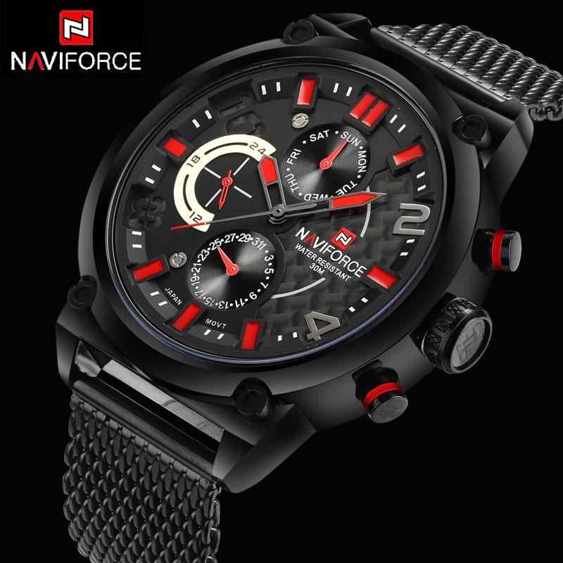 Luxury brand fashion watches men casual charm luminous sport multi-function quartz 24 Hour Date wirst watch Relogio Masculino