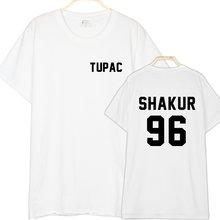 4d5e51c2 Thug Life T Shirts Shakur 96 T-shirt Tupac Shakr Shakur 2PAC Album  Streetwear Shirts