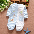 Autumn baby rompers 100% cotton baby boys and girls clothing new long sleeve overalls for newborn baby clothes jumpsuit