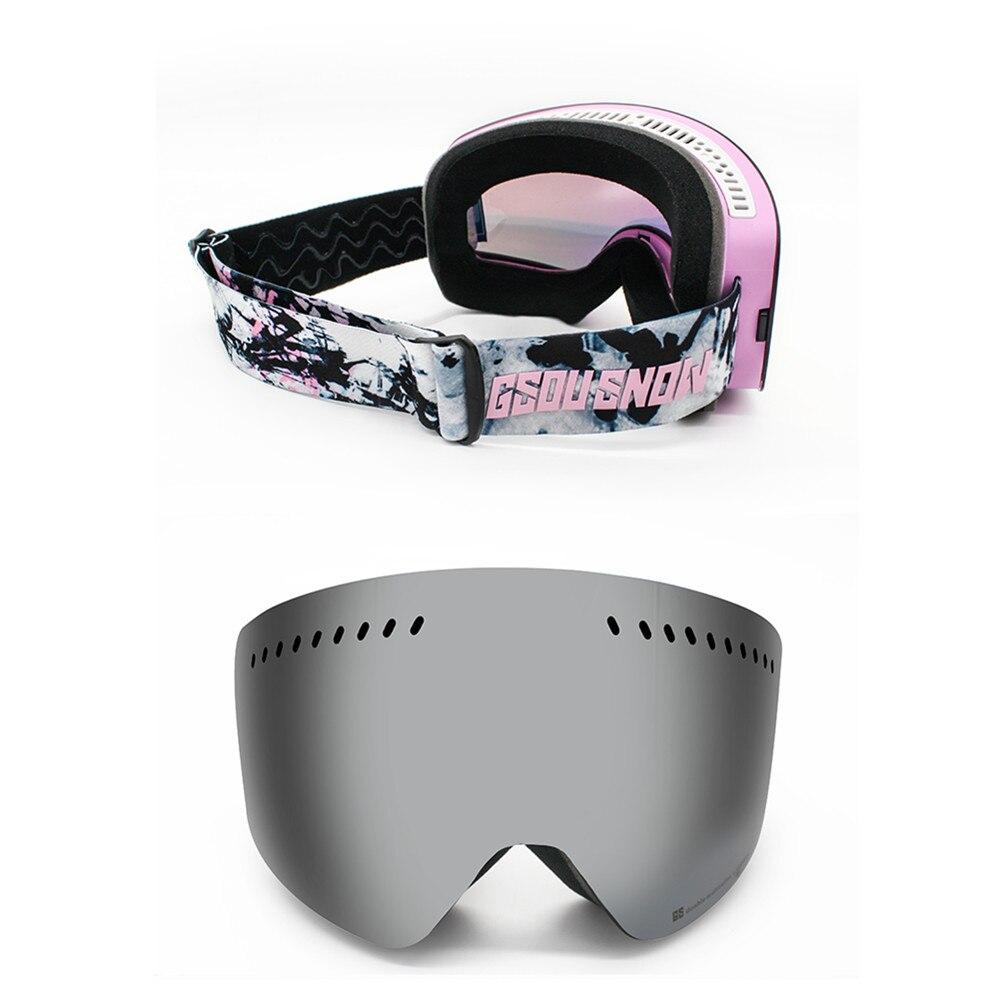 GS wintersport lunettes de ski lunettes de ski neige lunettes de snowboard motoneige ski et snowboard accessoires de ski - 6