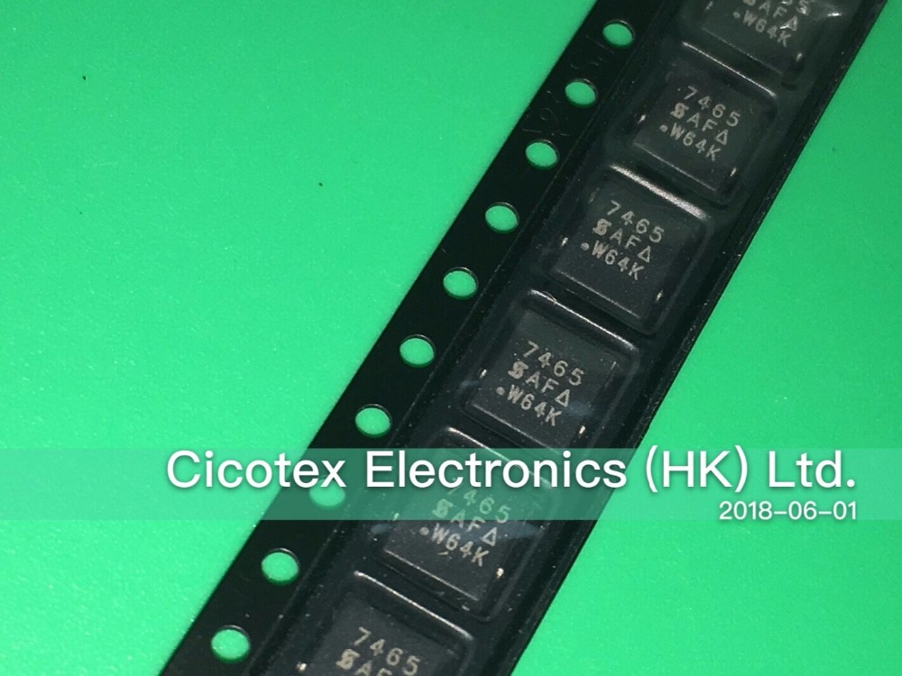 Electrical Equipments & Supplies Home Improvement Earnest 10pcs/lot Si7465dp-t1-e3 Qfn8 7465 Mosfet P-ch 60v 3.2a Ppak So-8 Easy To Use