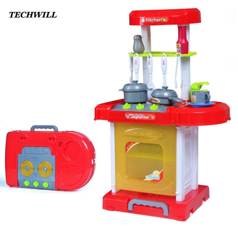 nios nias de cocina food kitchen toys pretend play luminoso set de cocina para nios creativo