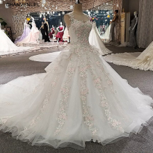 CHANVENUEL LS00259 vestidos de novia 2018 sexy luxury dress