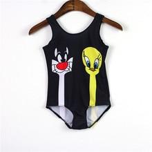 New Kids 3-8 Years Swimsuits Summer Style Arrival Children Swimwear One Piece Girls Swimsuits Brand Design SW257