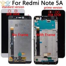 """5.5 """"720x1080 IPS عرض ل XIAOMI Redmi ملاحظة 5A LCD تعمل باللمس مع الإطار ل Xiaomi Redmi ملاحظة 5A رئيس LCD Y1/Y1 لايت"""