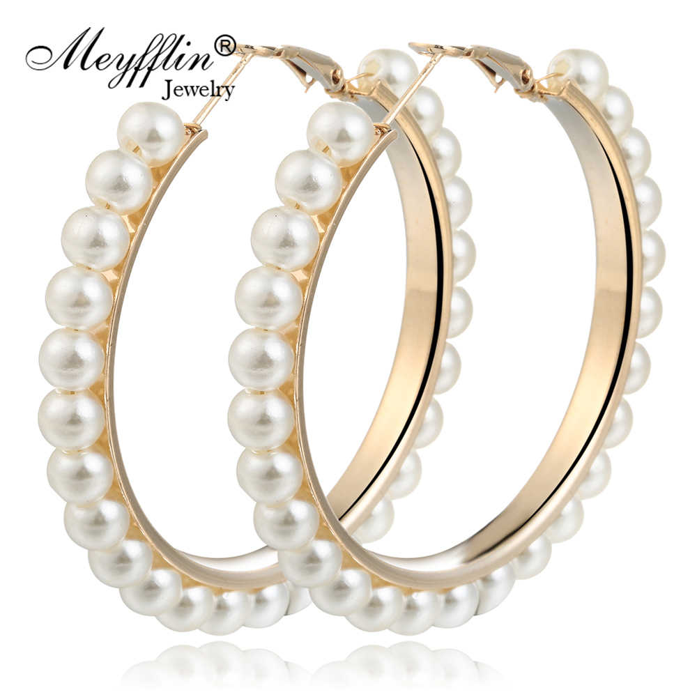 Серьги-гвоздики для женщин 2019 модные имитация жемчужные сережки Brincos Букле д 'ореиль ювелирные изделия женские ювелирные изделия