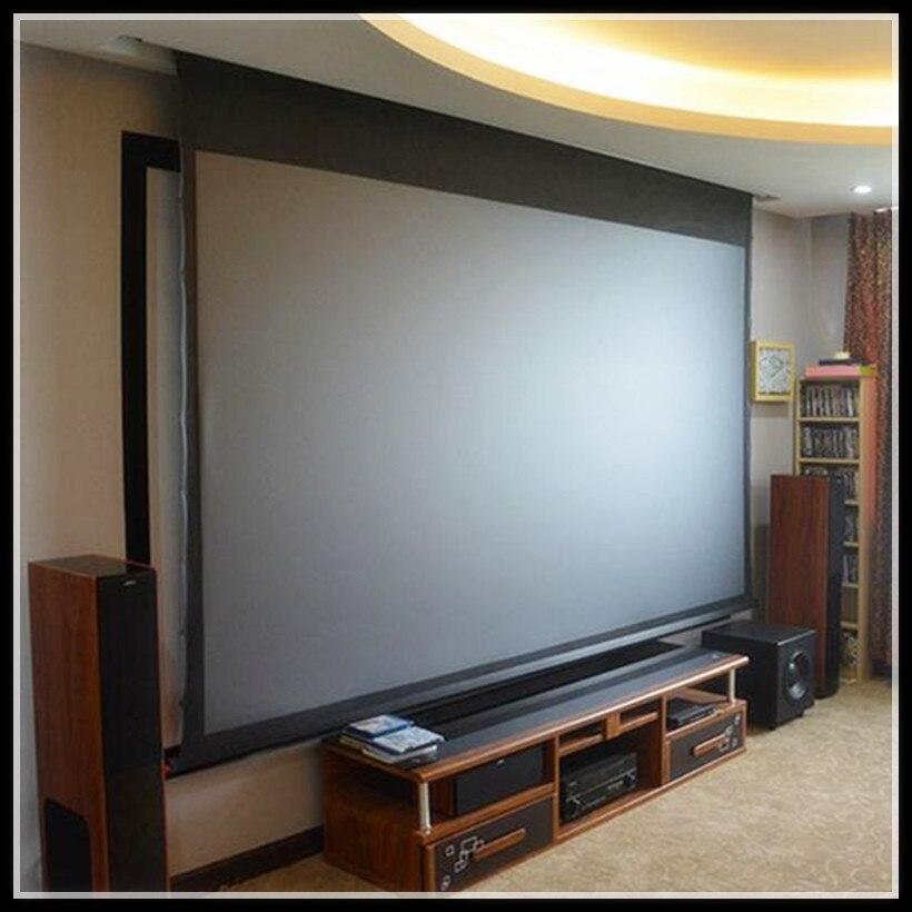 T2HALR-16:9 HDTV 4 k/8 k Prime Rejet de Lumière Ambiante MotorizedTab Écrans tendus Idéal pour N'importe Quelle Pièce environnement