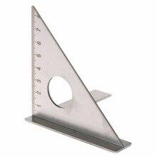 Woodworking Ruler Square Layout Miter Triangle Rafter 45/90 Degree Metric Gauge Tester Tools gauge block set 103pcs metric milling grinding setup layout machinist l99