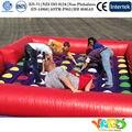 Inflatable biggors jogo twister twister inflável gigante para adultos jogos de esportes