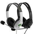 2016 USB Com Fio Jogo Gaming Headset Fones de Ouvido Estéreo de Estúdio de Música Ao Vivo Earpphones Microfone Para PS3 PC Portátil Media Player