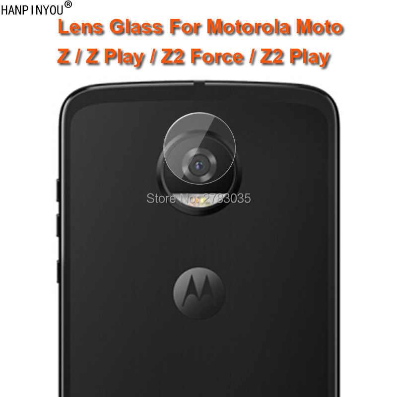 uk availability c5229 e8ed5 For Motorola Moto Z Z2 Play Force Clear Ultra Slim Back Camera Lens  Protector Rear Camera Lens Cover Tempered Glass Film