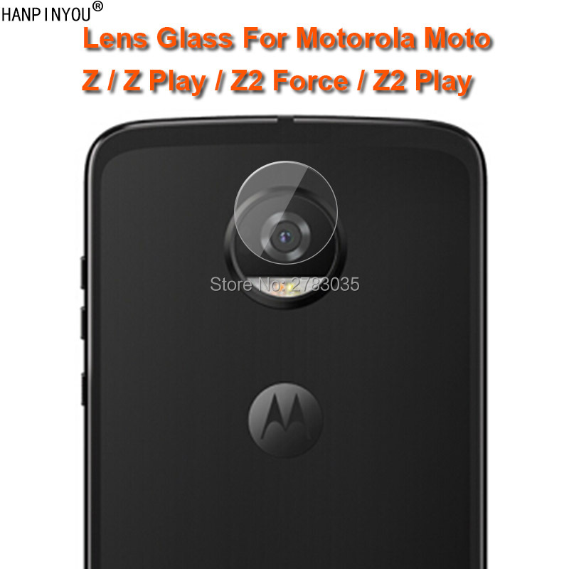 For Motorola Moto Z Z2 Play Force Clear Ultra Slim Back Camera Lens Protector Rear Camera Lens Cover Tempered Glass Film