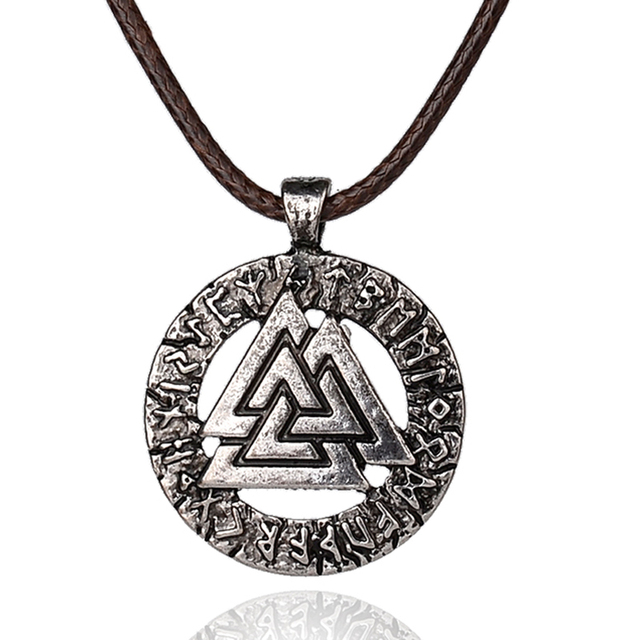Norse Vikings Pendant Necklace Scandinavian Viking Jewelry Odins