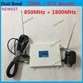 ЖК-Дисплей 2 Г GSM 850 DCS 1800 МГц МГц Сигнала Сотового Телефона ракета-носитель GSM 4 Г Dual Band Мобильный Сигнал Повторителя Усилитель с антенна