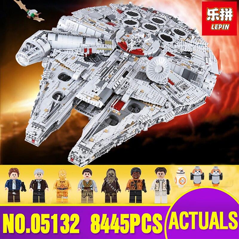 Корабль из Испании Лепин 05132 Star Series Wars Ultimate Коллекционная модель Разрушитель строительные блоки кирпичи Legoing 75192 игрушки подарок
